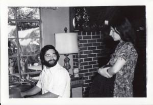 Carol and Mark, Toronto, 1973