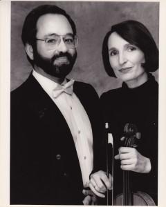 Carol and Mark, ca. 1990
